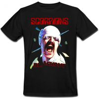 Футболка Scorpions Blackout - Album (чёрная)