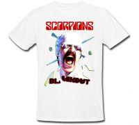 Футболка Scorpions Blackout - Album (белая)