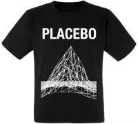 Футболка Placebo - Mountain Graph (черная)