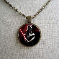 Кулон Star Wars Dart Vader [с цепочкой]