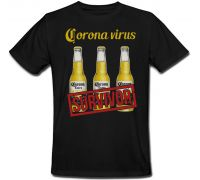 Футболка Beer Corona Extra (черная)