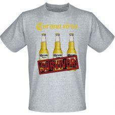 Футболка Beer Corona Extra (меланж)
