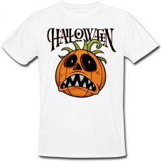 Футболка Halloween (белая)