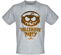 Футболка Halloween Party (меланж)