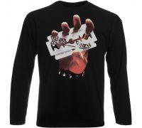 Футболка с длинным рукавом Judas Priest - British Steel (чёрная)