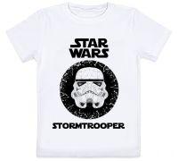 Детская футболка Star Wars - Stormtrooper (белая)