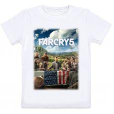 Детская футболка Far Cry 5 (белая)