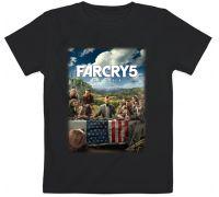Детская футболка Far Cry 5 (черная)
